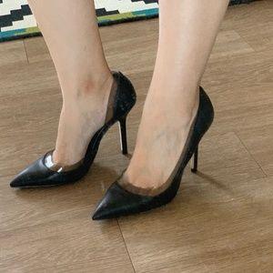 ZARA Black High Heels - 37 - Never wear outside